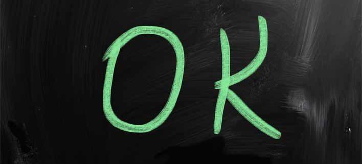 De 3 vigtigste ord i dit ordforråd - det er ok